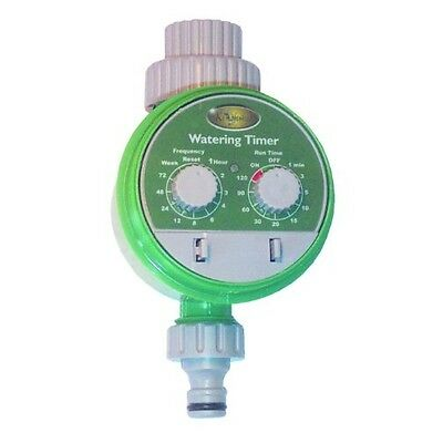 Electronic Water Timer, Battery Operated, Automatic Gardening Cycle, Garden