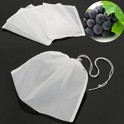 Strong Nylon Straining Bag for Nut Milk Sprouting Juicing Wheat Grass Juicer
