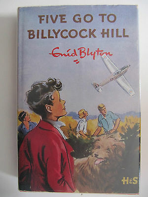 Five Go To Billycock Hill by Enid Blyton (Hardback - Fantastic Condition!)