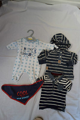 Baby Boys Bundle Inc Next & Baby's R Us Age 3 / 6 Months - B9