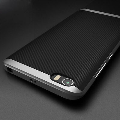Luxury For Xiaomi M5 Mi5 Case Hard Bumper Shockproof Silicone Rubber Cover Shell