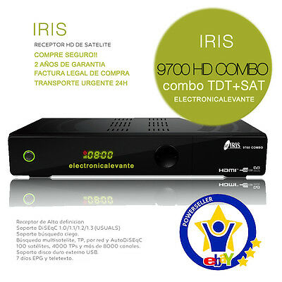 Decodificador Iris 9800 Hd + Cable Hdmi+ Factura+ Garantia, Tienda Oficial
