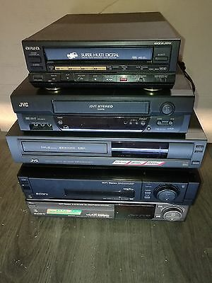 + lot of 5 VHS player