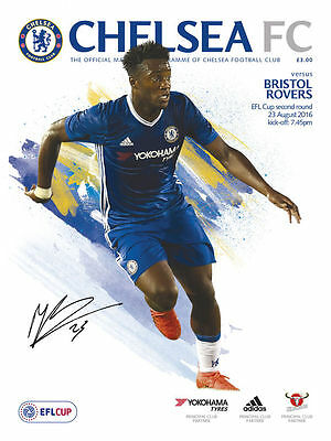 2016/17 - CHELSEA v BRISTOL ROVERS (LEAGUE CUP - 23rd August 2016)