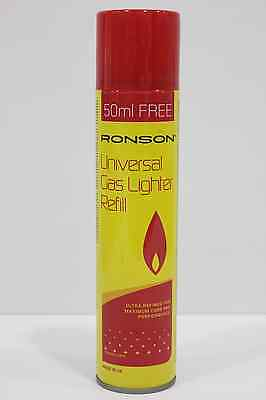 Quality Ronson Lighter Gas Butane Refill ,300ml