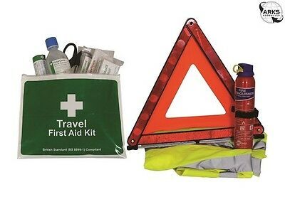 SAFETY FIRST AID BS Compliant Motoring First Aid Kit - K3009TR