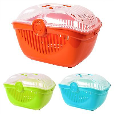 Small Animal Open Top Pet Carrier Rabbit Ferret Guinea Pig Cat Kitten Box