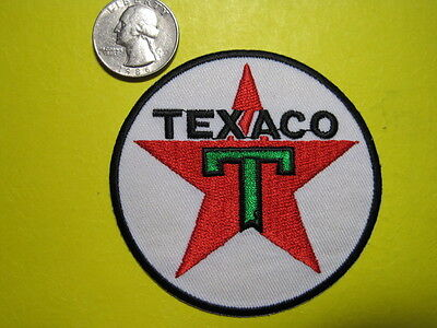 Texaco Uniform Cloth Patch 3 Inch Circle Look And Buy!*