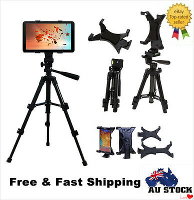 Adjustable 39-67cm Tripod Stand Mount Holder for iPad 2 3 4 Mini Air Tablet PC