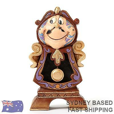 Jim Shore Disney Traditions - COGSWORTH Beauty and the Beast Figurine 4049621