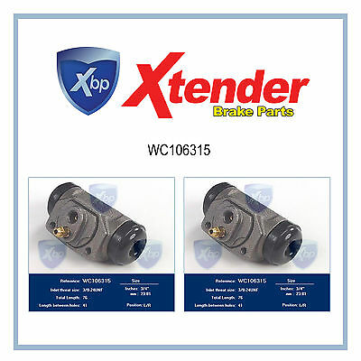 WC106315 Fits Dodge Classic Drum Brake Wheel Cylinder Rear Challenger/Charger