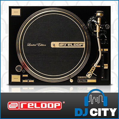 Reloop RP-7000GLD DJ Turntable – Limited Edition Gold