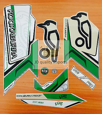 Cricket bat Stickers - Kookaburra Kahuna Pro - Top premium quality