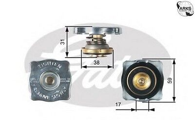 GATES RADIATOR CAP - RC130 |Next working day to UK