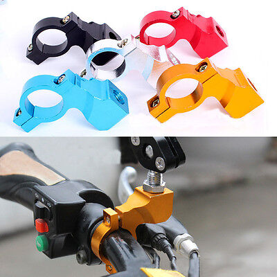 Motorcycle Bicycle Handlebar Rearview Mirror Mount Bracket Holder Clamp
