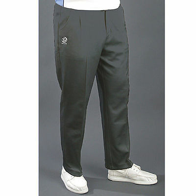 Taylor Mens Grey Sports  Bowls Trousers Free P&P