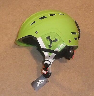 NEW TRESPASS FURILLO GENTS SKI HELMET L/XL 56-62 cm LIME GREEN