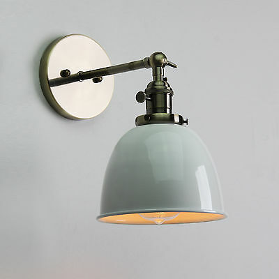 "6.3"" Vintage Antique Industrial Sconce Loft Wall Light Wall Lamp E27 Led Bulb"