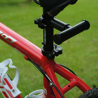 Mountain Bike Extension BRACKET Bicycle Light clips Fixed seat T-racks Rubber