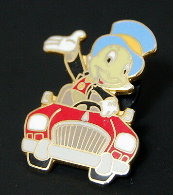 Disney Pin Jiminy Cricket Driving Car AAA Travel Package DLR 9345