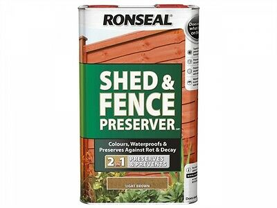 Ronseal preserver 5ltr (Shed and fence)