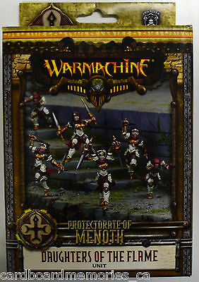 Warmachine Protectorate of Menoth Daughters of the Flame Unit PIP 32046 - NEW