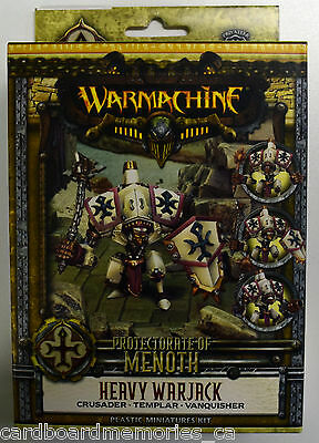 Warmachine Protectorate of Menoth Heavy Warjack Crusader Kit PIP 32061 - NEW