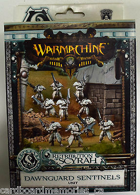 Warmachine Retribution of Scyrah Dawnguard Sentinels Unit PIP 35009 - NEW