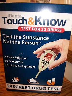 IDenta Touch and Know Test For 22 Drugs No Lab Required! WOW exp 6/18 earliest