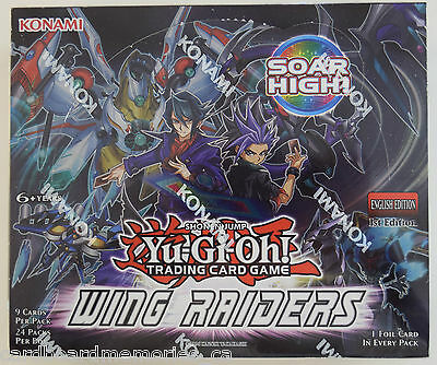 Yu-gi-oh! Yugioh Wing Raiders Factory Sealed 1st Edition English Booster Box