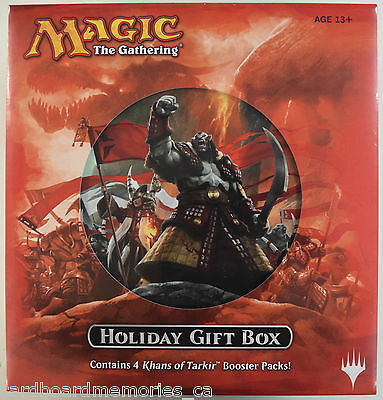 Magic The Gathering Khans of Tarkir Factory Sealed Holiday Gift Box