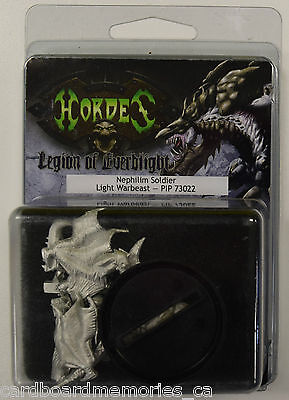 Hordes Legion of Everblight Nephilim Soldier Light Warbeast PIP 73022 - NEW