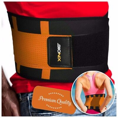Lumbar Back Support Belt Lower Pain Relief Adjustable Double Pull Brace Neoprene
