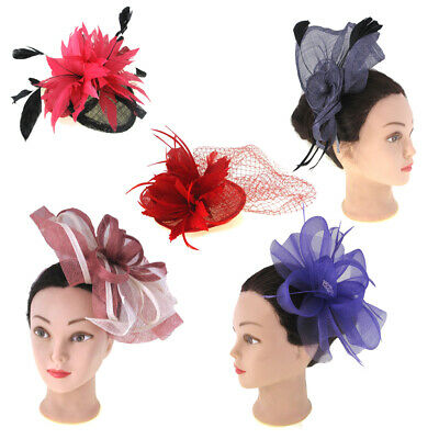 Fascinator Ladies Headpiece Wedding Ladies Day Races Womens Hair Accessories UK