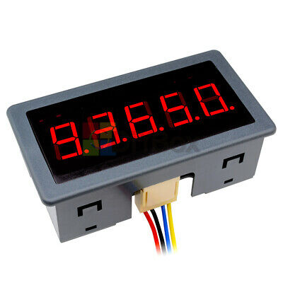 """DC12-24V 0.56"""" Red LED Digital Counter Meter Count Timer Timing Three Function"""