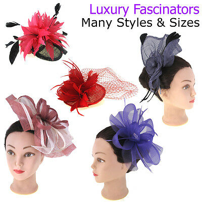 Fascinator Ladies Headpiece Wedding Ladies Day Womens Clips Mother of the Bride