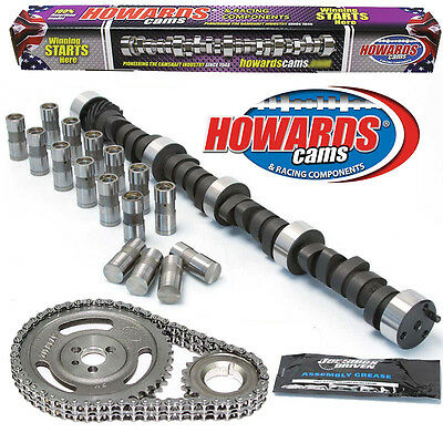 "HOWARD'S 1600-5600 RPM Chevy BBC 275/289 504""/504"" 115° Cam Kit with Timing Set"