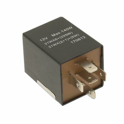 CAMBIARE Flasher Relay - 12V - 126A - 5-Pin - Bracket Type - VE725033