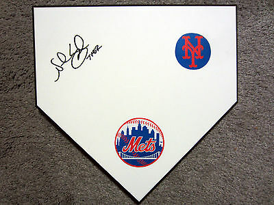 NOAH SYNDERGAARD New York Mets All-Star SIGNED Autographed Home Plate Base w/COA