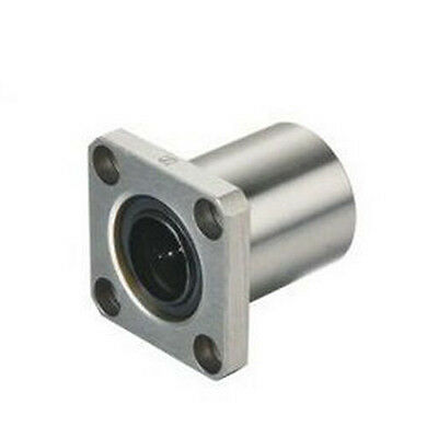 1pcs LMK8UU Inner Diameter 8mm Square Flang Type Linear Bearing CNC Part