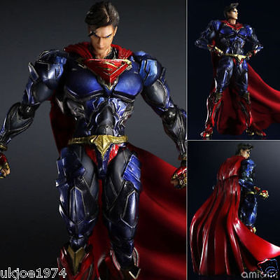 "DC Comics Variant Play Arts Kai Superman PVC Action Figure 10"" Figurine"