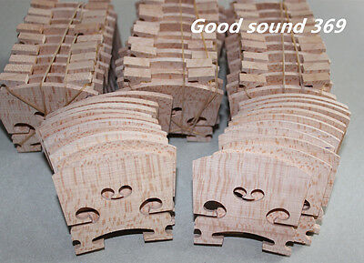 5pcs most solid maple wood 4/4 violin bridges dried in the open air 15 years