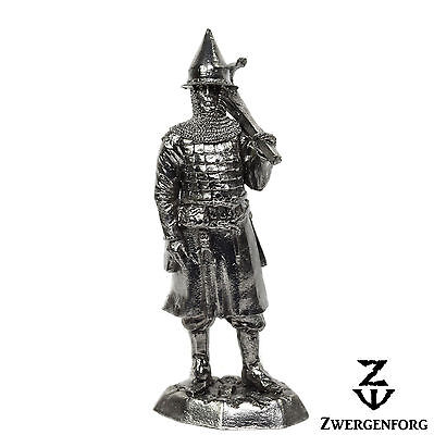 "Tin Toy SOLDIER 54mm RUSSIAN Knight MEDIEVAL Crossbowman 1/32"" Metal Tin Figure"