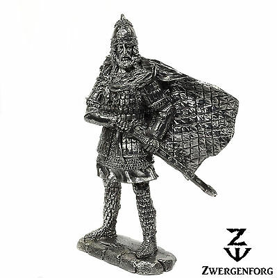 "Tin Toy SOLDIER 54mm RUSSIAN Great PRINCE Novgorod KNIGHT 1/32"" Metal Tin Figure"
