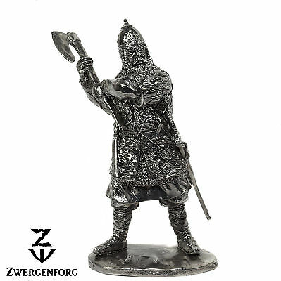 "Tin Toy SOLDIER 54mm RUSSIAN Warrior MEDIEVAL Militia 1/32"" Metal Tin Figure"