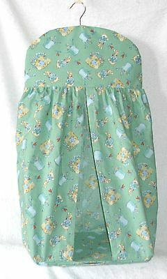 Beatrix Potter Peter Rabbit on green Nappy Stacker