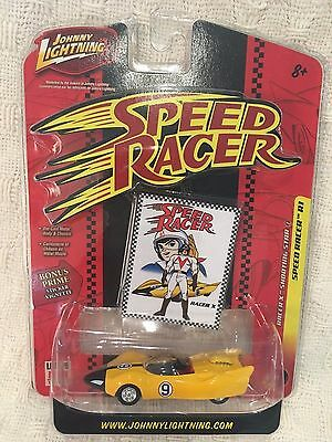 Speed Racer Racer X Johnny Lightning Limited Die cast Metal 1:64 scale NEW
