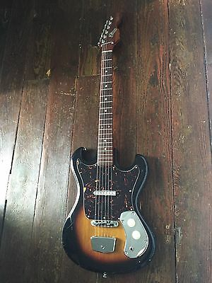 Vintage Barth Electric Guitar- 1960's, Made in Japan, All Original! Nice!