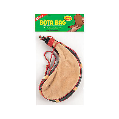 2 L liter 68 oz Bota Bag canteen polylined camping hiking leather bag water