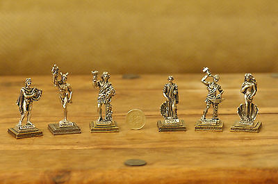 Ancient Greek Olympian Gods - Miniature Statues Selection